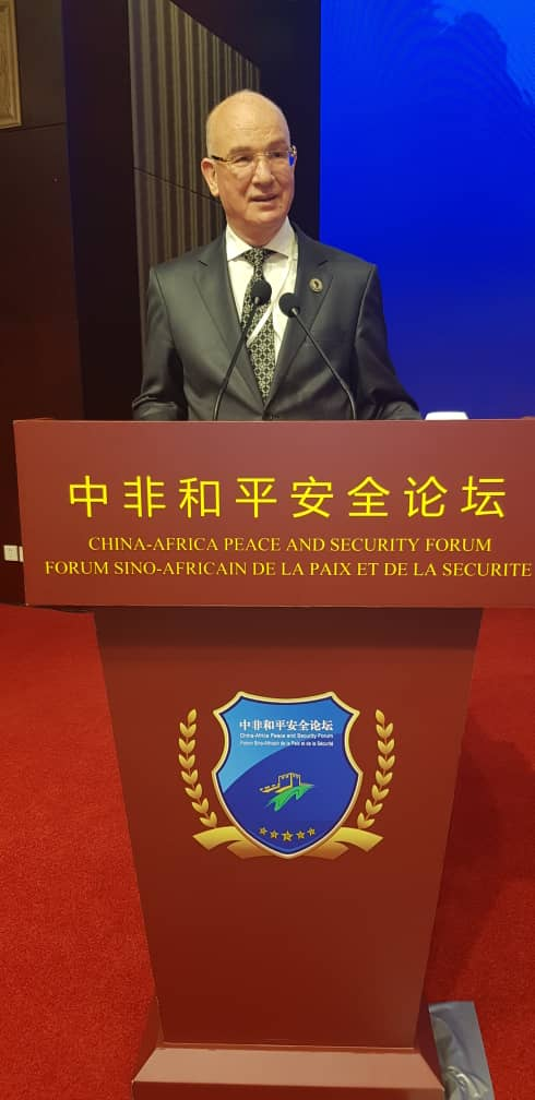 Statement by Ambassador Smail Chergui AU Commissioner for Peace and Security on Security Threats and Challenges faced by Africa at the first China-Africa Peace and Security Forum, 14 July 2019 in Beijing, China