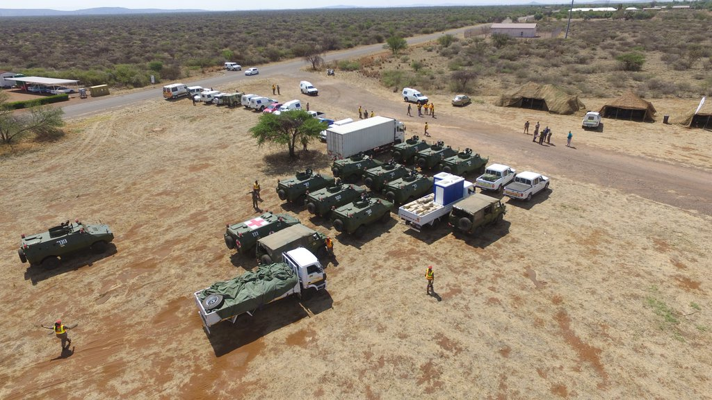 Landmark AMANI AFRICA II Field Training Exercise concludes  in South Africa