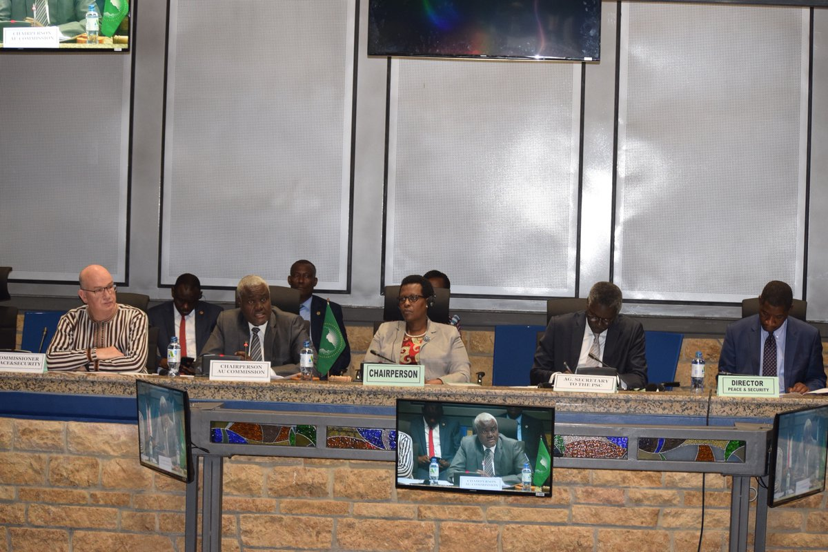 852nd meeting of the AU Peace and Security Council on the situation in the Sudan