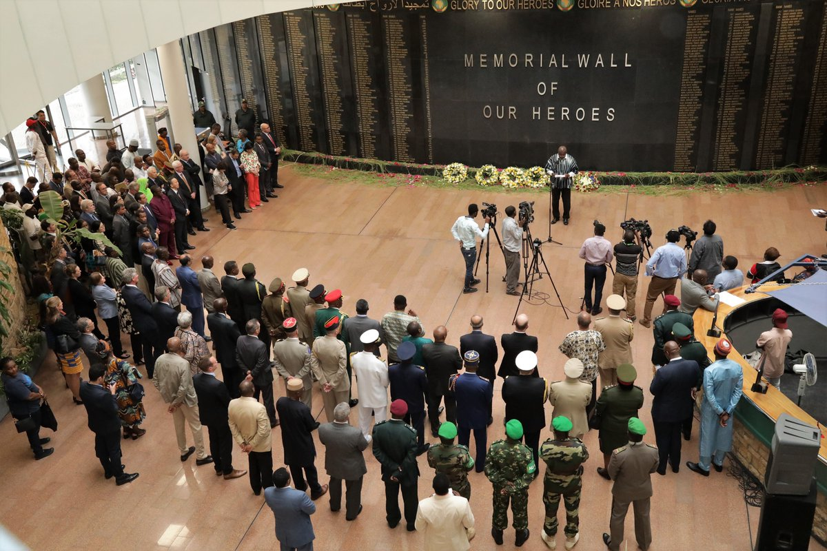 Inauguration of a Memorial Wall in Honour of the African Union (AU) Heroes and Heroines