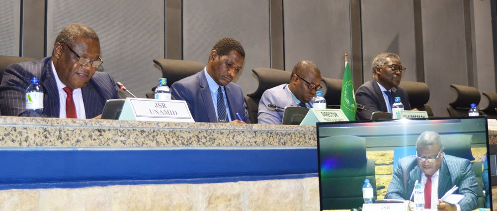 The 856th meeting of the Peace and Security Council on the activities of the African Union-United Nations Hybrid Operation in Darfur (UNAMID) and the situation in Darfur