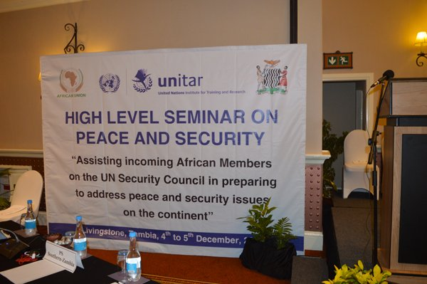 5th High Level Seminar on Peace and Security in Africa convenes in Livingstone, Zambia