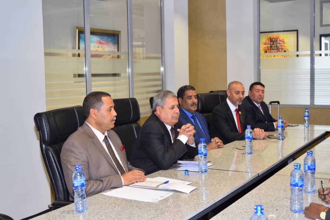The AU Commissioner for Peace and Security receives High Level Delegation from the Libyan National Army