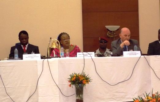 Discours de Son Excellence Madame Catherine SAMBA-PANZA Chef de l'Etat de la Transition - 6ième réunion du Groupe Internationale de Contact sur la crise en République centrafricaine