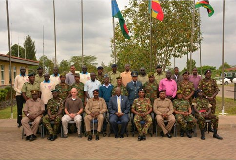 African Union Holds Training Workshop on Explosive Ordinance Disposal