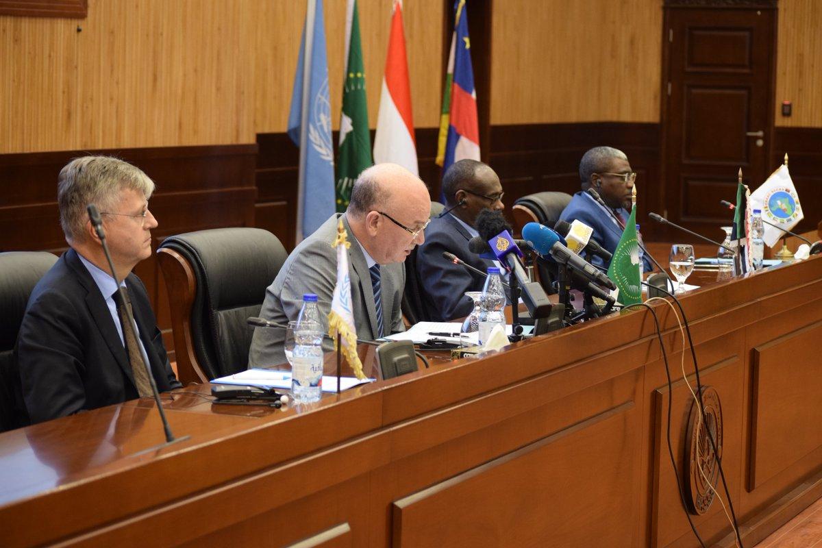 Allocution de l'Ambassadeur Smail Chergui, Commissaire à la paix et a la securite, à l'ouverture du dialogue Intercentrafrican