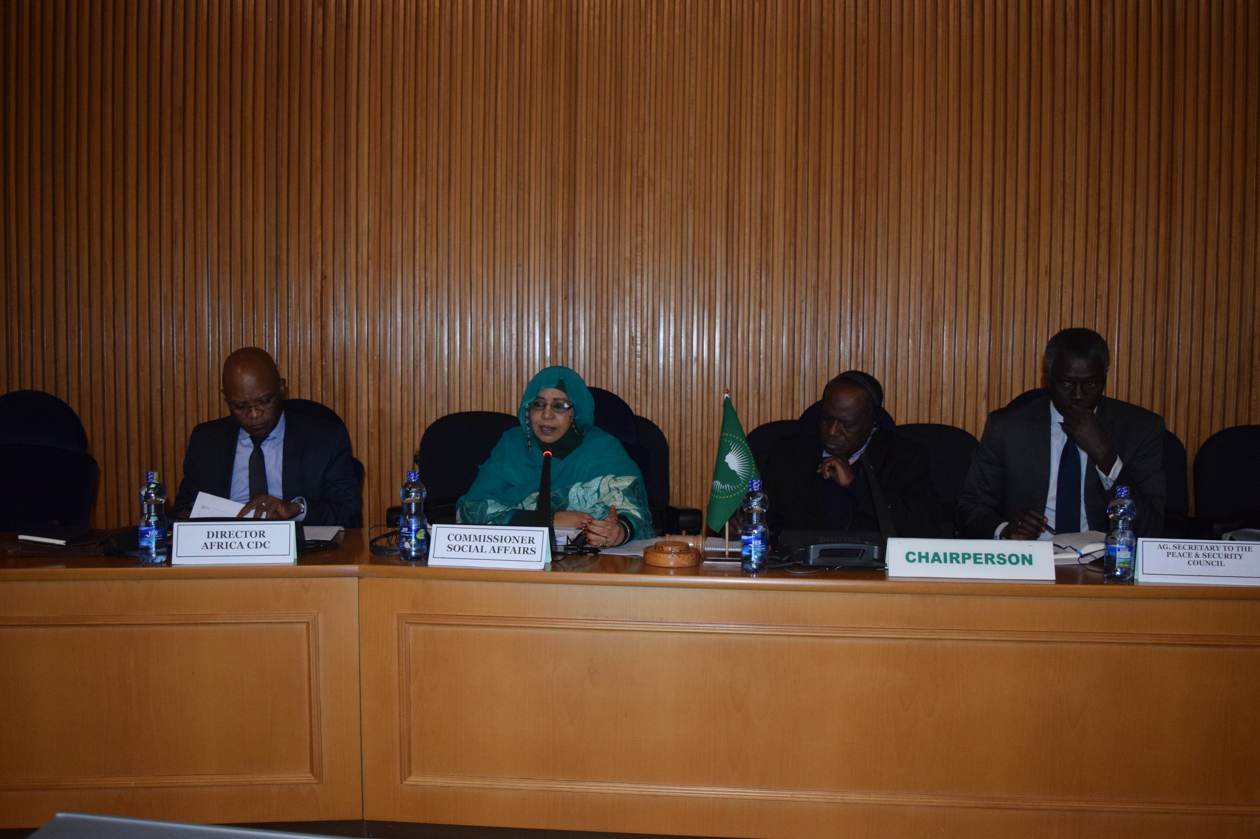 Communiqué of the 862nd meeting of the PSC, held on 23 July 2019, on the outbreak of Ebola in the Eastern part of the Democratic Republic of Congo (DRC)