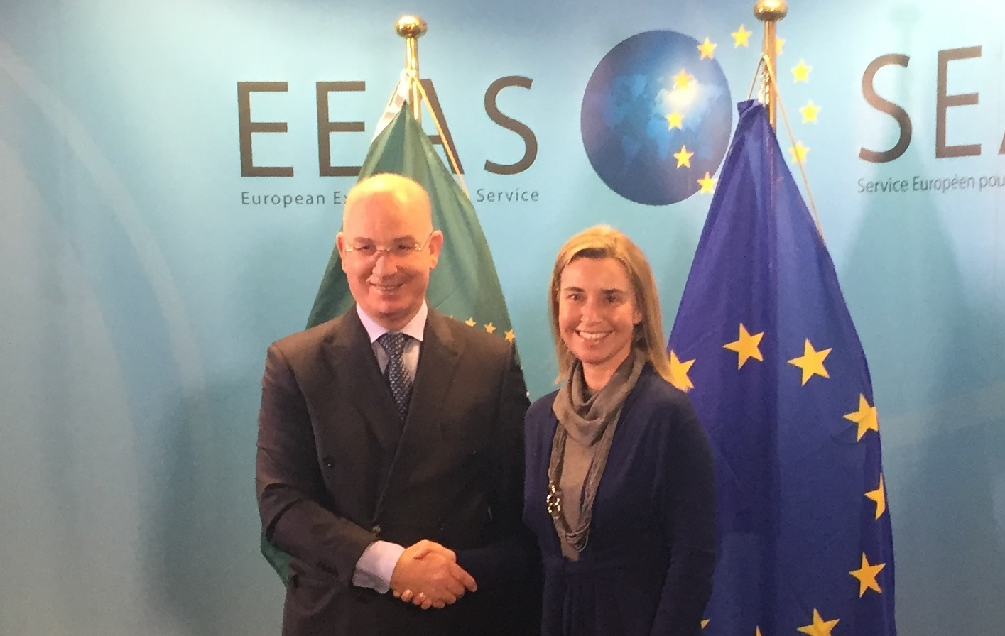 Commissioner for Peace and Security meets with the European Union High Representative for Foreign Affairs and Security Policy