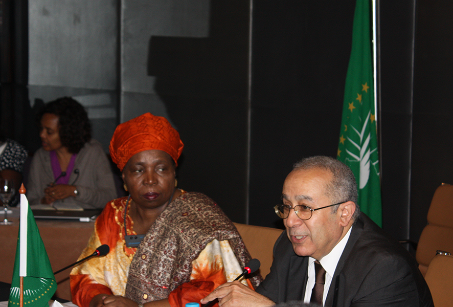 The Chairperson of the Commission of the African Union Meets with the AU Special Envoys and Representatives