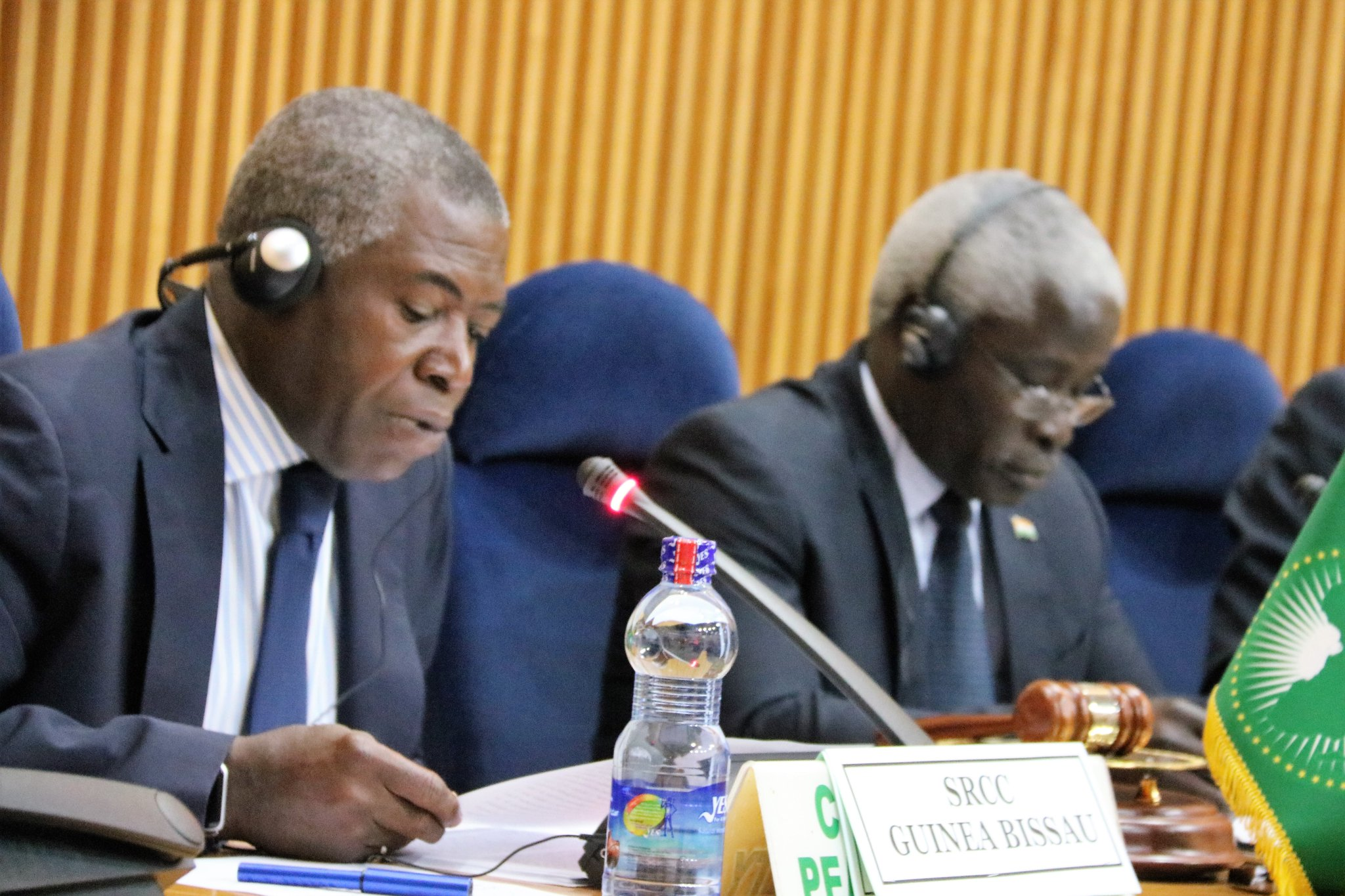 AU Rep. in Guinea Bissau Amb. Ovidio Pequeno briefs PSC on the situation in Guinea Bissau