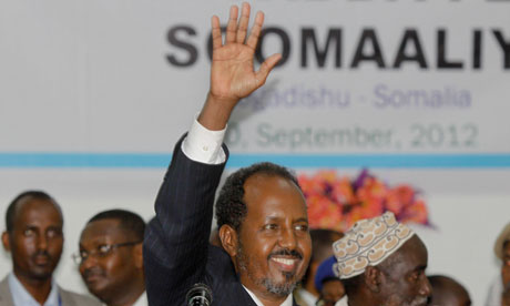 The African Union welcomes the successful presidential election in Somalia