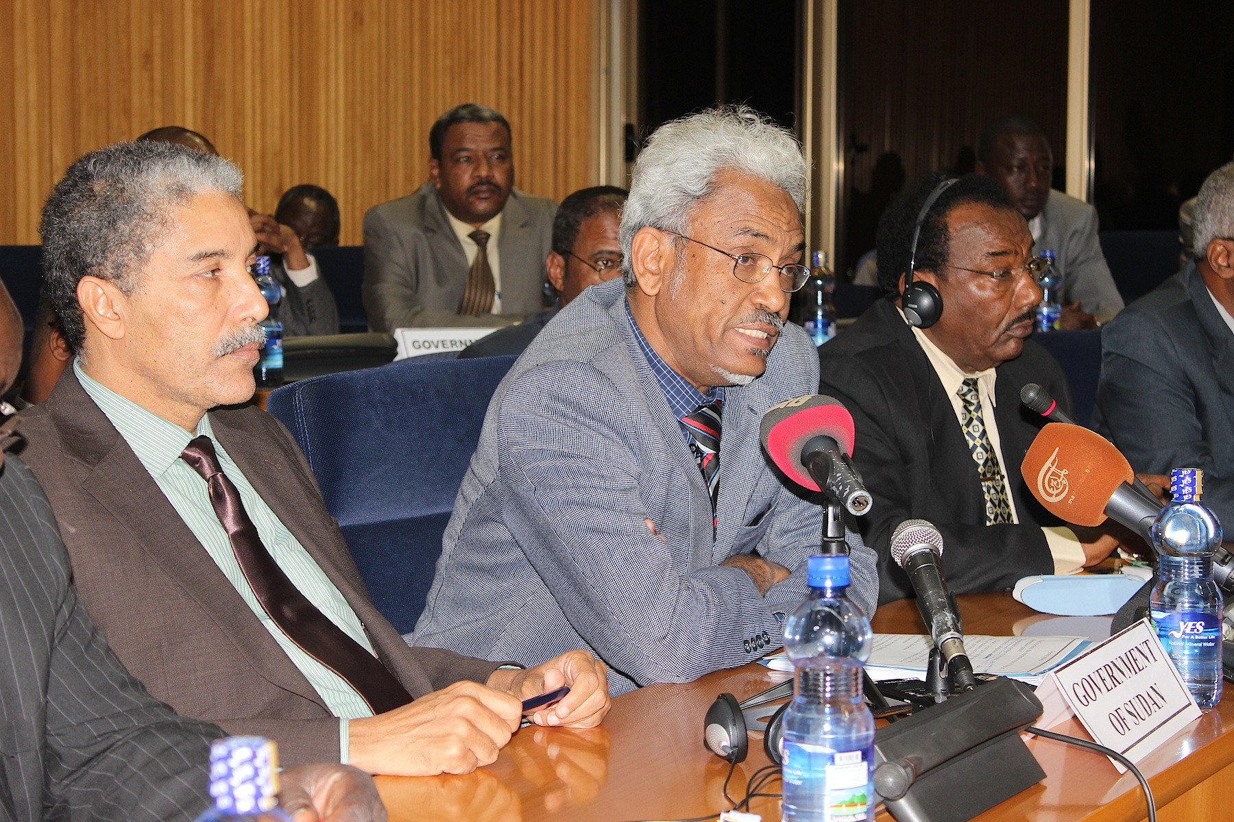 Statement of Government of Sudan by Dr. Amin Omer Hassan on the occasion of the opening session of Darfur peace talks