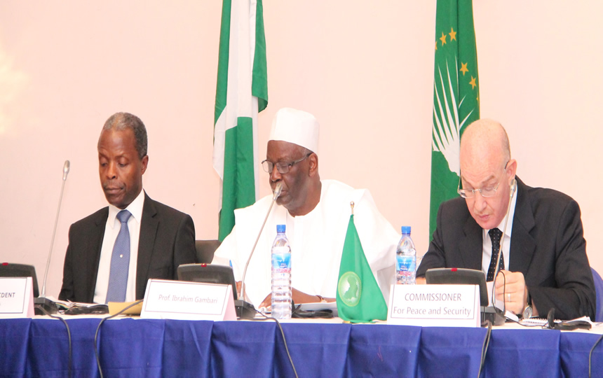 PSC holds Retreat in Abuja, Nigeria, on Enhancing its Cooperation with the RECs/RMs – Nigeria's Vice-President commends Council for its achievements