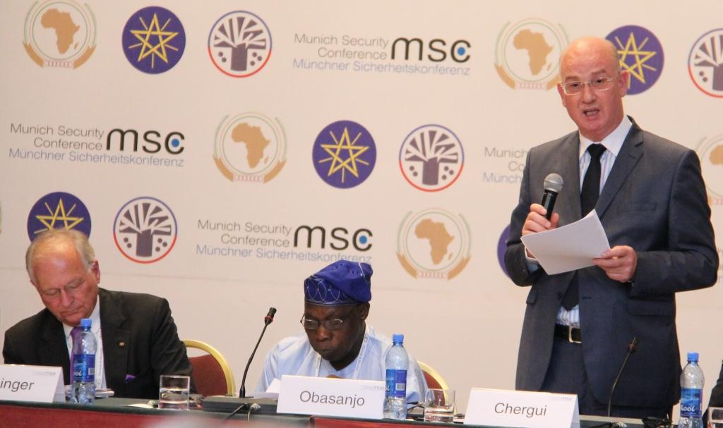 Opening remarks by  H.E. Amb. Smail Chergui AU Commissioner for Peace and Security during the Meeting of the Core Group, Munich Security Conference