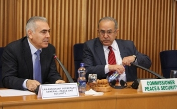 AU Peace and Security Department  holds consultative meeting with the League of the Arab States (LAS)
