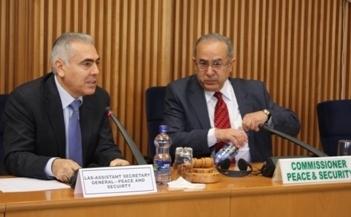 Le Département Paix et Sécurité organise une réunion consultative avec le Secrétariat de la Ligue des États arabes (LEA)