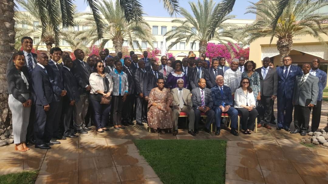 The Peace and Security Council of the African Union holds an induction session in Djibouti for its newly elected and reelected members