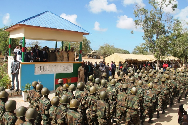 AU Special Representative re-affirms AMISOM's continued support to the Somali National Army on its 55th anniversary