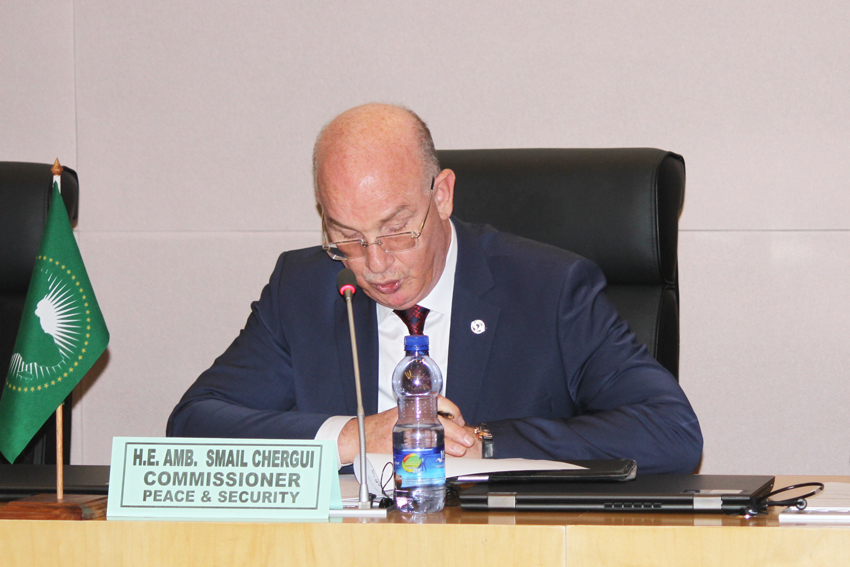 Opening Remarks by H.E. Smail Chergui,Commissioner for Peace and Security during the Workshop on Ten Years of African Union Post-Conflict Reconstruction and Development Policy Implementation
