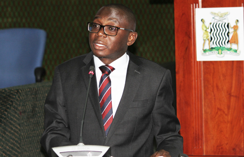 Ambassador Chalwe Lombe, Permanent Secretary at the Zambian Ministry of Foreign Affairs