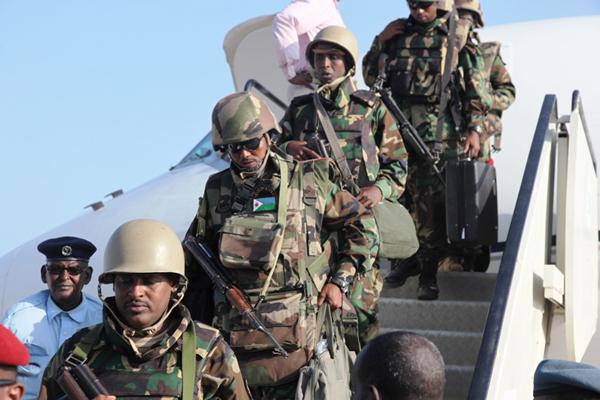 Les troupes djiboutiennes se joignent à l'AMISOM