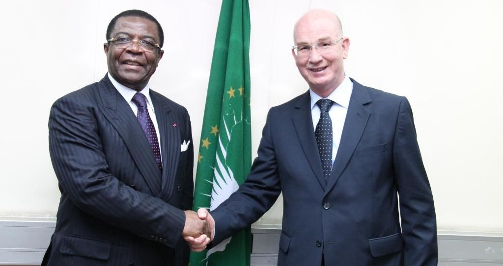 AU Commissioner for Peace and Security receives Cameroon Minister of Defence