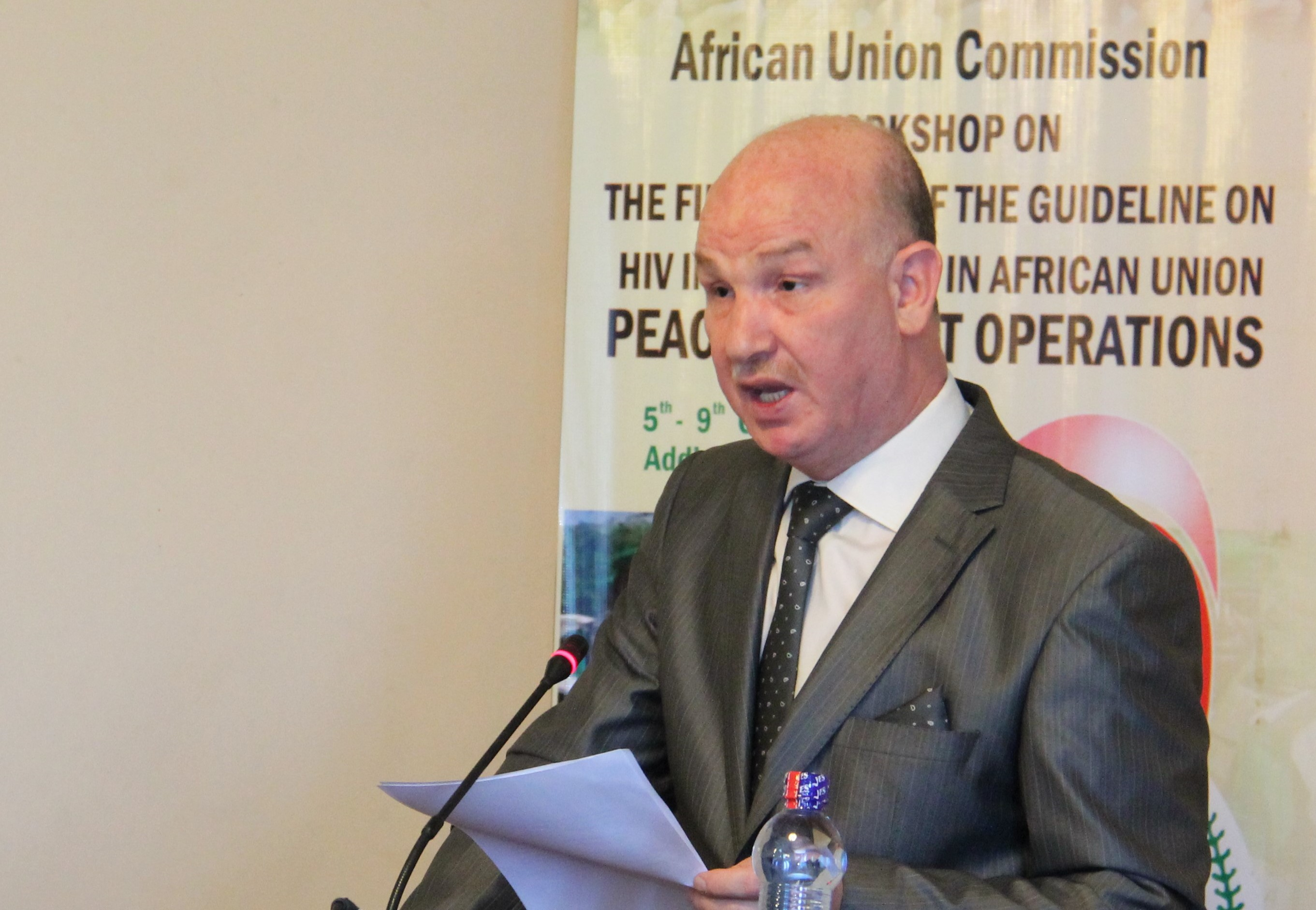 Remarks by H.E. Amb. Smail Chergui, AU Commissioner for Peace and Security, at workshop on finalization of guidelines on HIV Interventions in AU PSOs