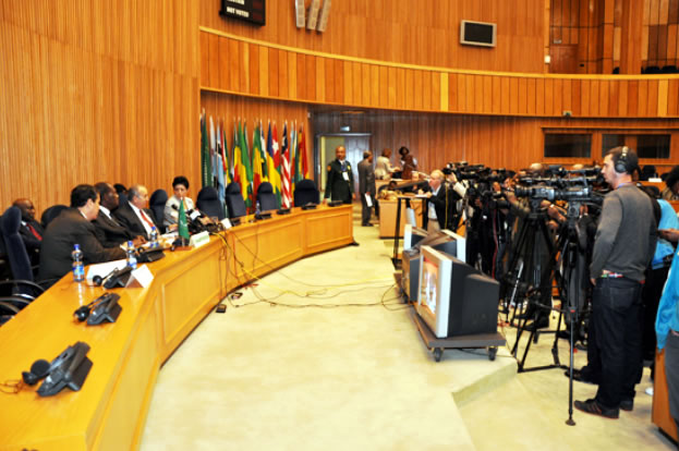 327th meeting Peace and Security Council of African Union on the evolving situation in the eastern part of the Democratic Republic of Congo (DRC)