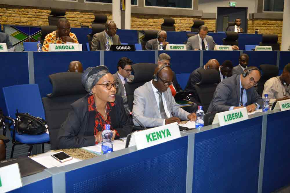 The 827th meeting of the AU PSC on the consideration and adoption of the Concept of Operations (CONOPs) of the African Union Mission in Somalia (AMISOM) for 2018 – 2021