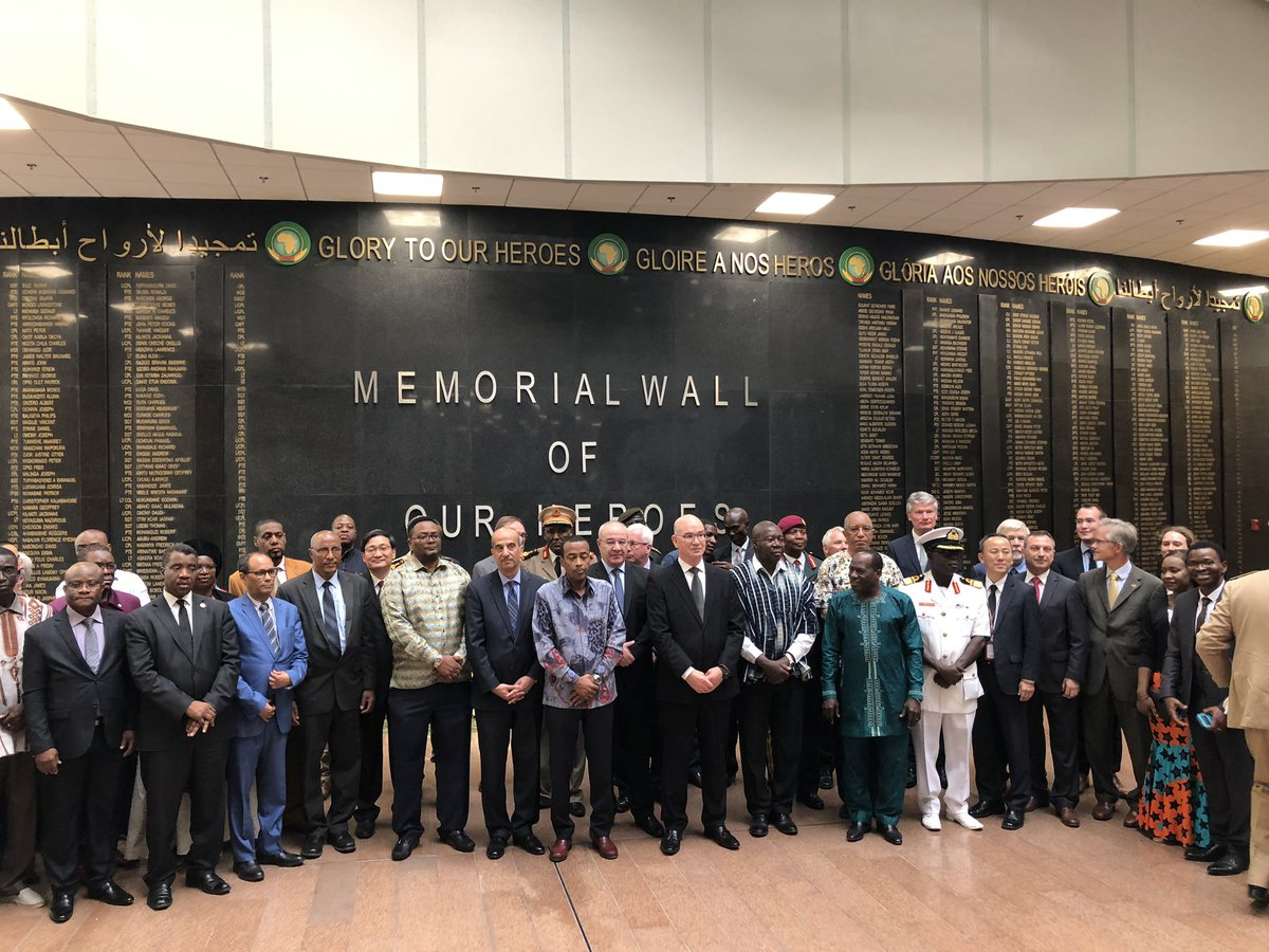 Statement of H.E. Smail CHERGUI, Commissioner for Peace and Security, at the Official Inauguration Ceremony of the African Union Memorial Wall in Honour of Heroes and Heroines, who paid the ultimate price in AU Peace Support Missions
