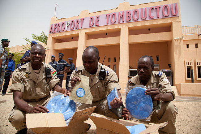 The African Union condemns the terrorist attack against the MINUSMA in the Timbuktu region of Mali