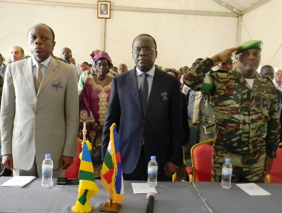 #MSCA hosts in #Bangui 20th anniversary memorial service for victims of #Rwanda20yrs #Genocide