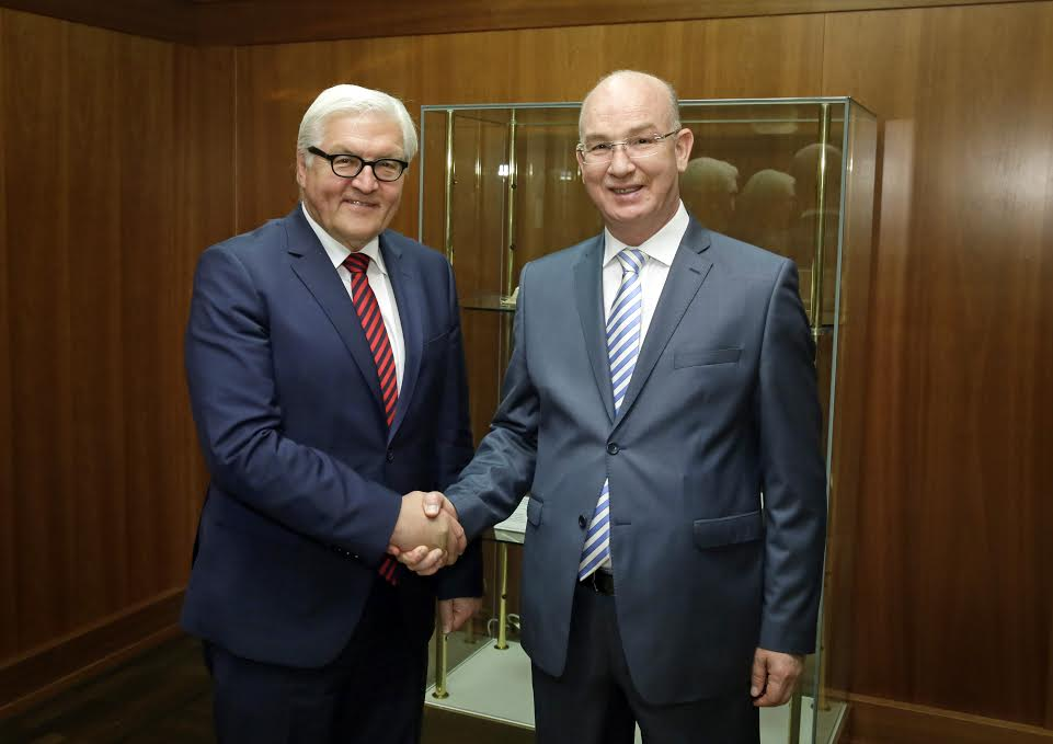 AU Peace and Security Commissioner meets with Germany Federal Foreign Minister Frank-Walter Steinmeier