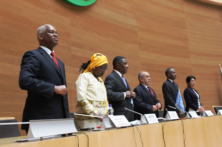 The African Union Commemorates Peace Day with its Partners