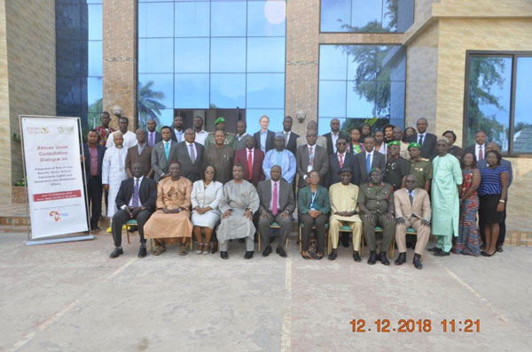 """AU Consultative Dialogue on """"The Integration of Rule of Law, Security Sector Reform, Transitional Justice and Governance into Stabilisation Efforts"""" concludes in Banjul, The Gambia"""