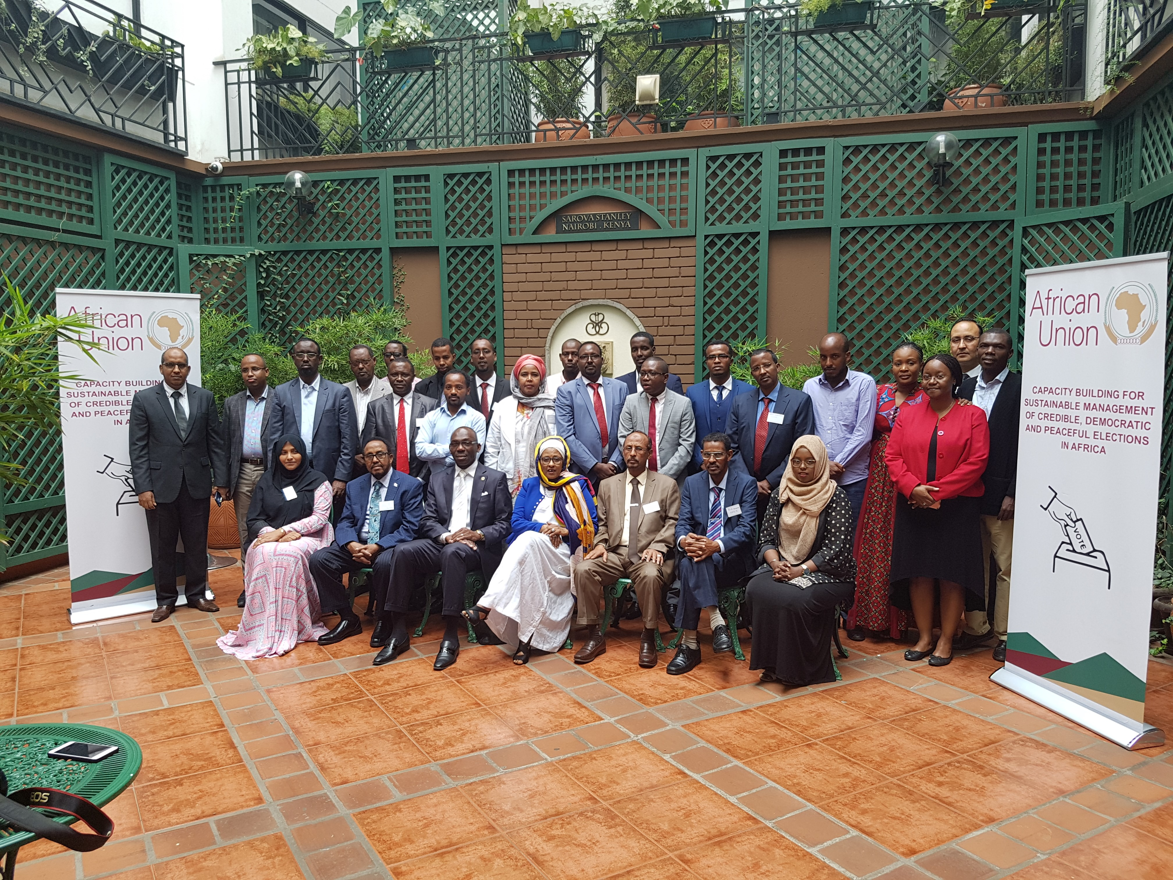 Press Release on African Union Training Workshop on Electoral Boundaries Delimitation for Somalia