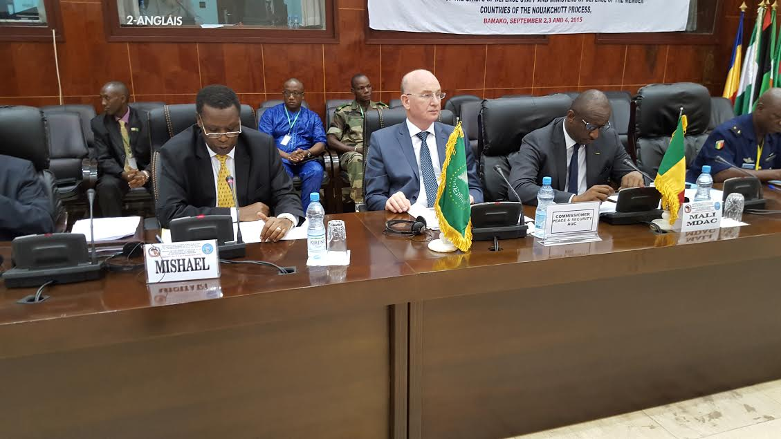 Report of the Commission of the African Union on the follow-up to the relevant provisions of the Declaration of the summit of the member countries of the Nouakchott process of 18 December 2014