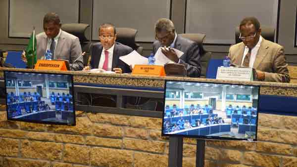 The 750th meeting of the AU Peace and Security Council on the activities of the AU High-Level Implementation Panel (AUHIP) for Sudan and South Sudan