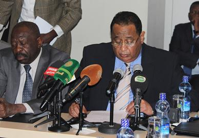 Government of Sudan Statement by Prof. Ibrahim Ghandour,  Head of GoS delegation, at the Opening Session of the Addis Ababa Negotiation: November 12, 2014