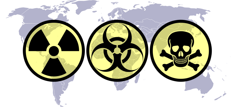 chemical terrorism weapons of mass destruction Weapons of mass destruction in july 2006, the fbi created the weapons of mass destruction (wmd) directorate to build a cohesive and coordinated approach to incidents involving chemical, biological, radiological, or nuclear (cbrn) material—with an overriding focus on prevention.