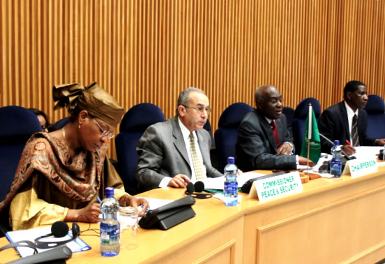 The Peace and Security Council of the African Union (AU), at its 328thmeeting held in Addis Ababa on 24 July 2012, reviewed the situation in Darfur and the activities of the African Union-United Nations Hybrid Operation in Darfur (UNAMID), and adopted the following decision