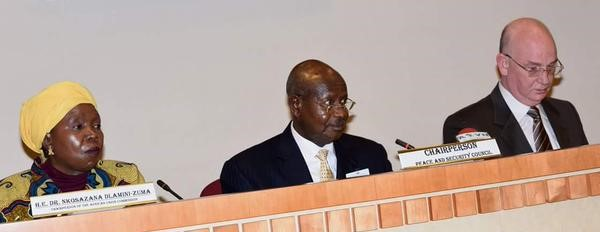 Statement by H.E. Yoweri Museveni, President of the Republic of Uganda and Chairperson of the AU Peace and Security Council (PSC), delivered at the PSC Summit, held on 26 September 2015, in New York on the Margins of the UNGA
