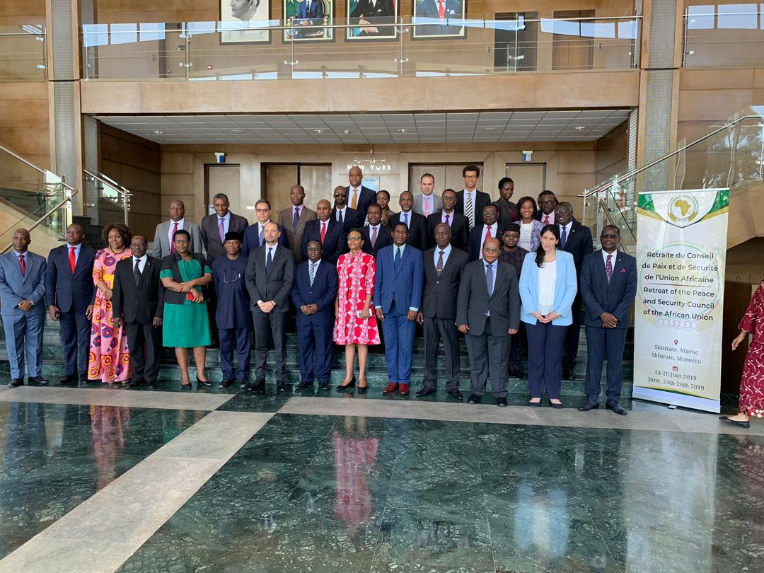 """The Peace and Security Council of the African Union concludes a three-day Retreat in Rabat, Morocco, on the Theme: """"Strengthening the work of the Peace and Security Council on Conflict Prevention and Peace consolidation in Africa"""""""