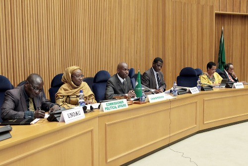 The Peace and Security Council of the AU adopted a decision on the Ebola outbreak in West Africa
