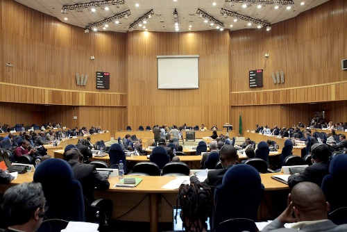 Is it lawful for AUPSC to intervene in Sudan's very internal issues ?