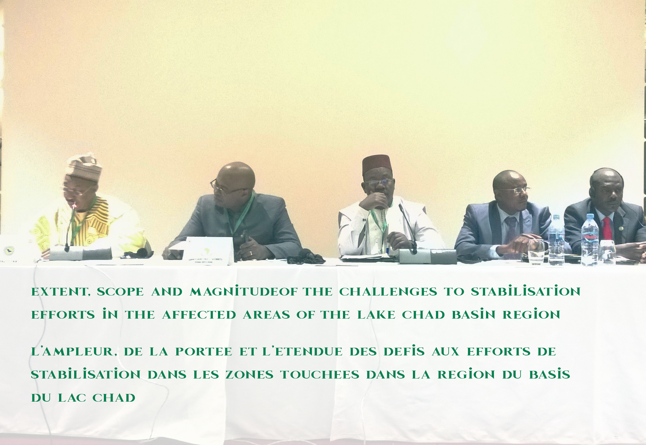 Lake Chad Basin Commission and the African Union convene a Regional Stabilization Conference for areas in the Lake Chad Basin Region affected by Boko Haram activities