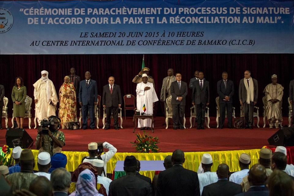L'Union Africaine se felicite de la signature, par la Coordination des Mouvements de l'Azawad, de l'accord pour la paix et la reconcilitation au Mali