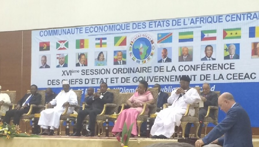 Allocution de l'Ambassadeur Smail Chergui, lors de la 16ème session ordinaire de la conférence des chefs d'état et de gouvernement de la CEEAC, Ndjamena, 25 mai 2015