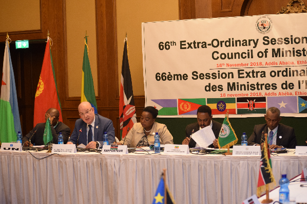 Statement by Ambassador Smaïl Chergui, Commissioner for Peace and Security, at the 66th Extraordinary Meeting of the Council of Ministers of IGAD