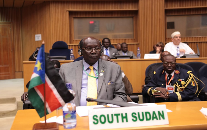 Communiqué of the 484th meeting of the PSC on the situation in South Sudan